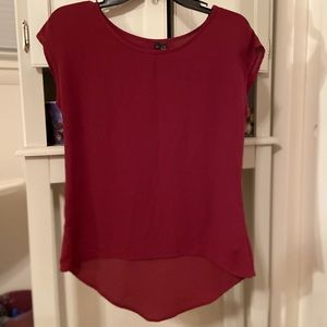 burgundy blouse ❤️